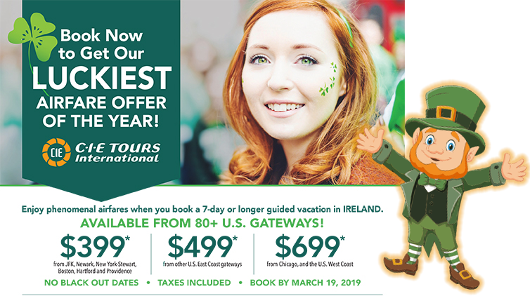 st pattys3 - Jan's Travel and Cruise - Travel Leaders